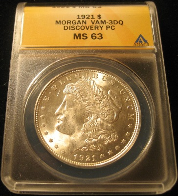 1921-P VAM-3DQ discovery piece ANACS obverse.jpg